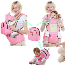 Baby Kids carrier with hip seat with hook backpack sling wrap 0-48 months 25 kg