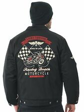 Lucky 13 Black Racing Death - Fully Lined Jacket
