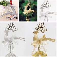 Christmas Tree Ornament Deer Chital Hanging  Xmas Baubles Party Decor Ornament