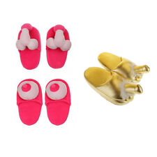 Novelty Creative Boobies Breast Willy Penis Slippers Hen Adult Party Joke Gag