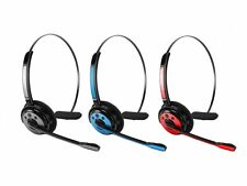 Cellet Wireless Bluetooth Headset with Boom Microphone Over the Head Comforts