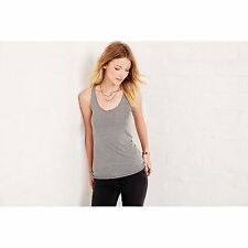 Bella Triblend Racer Back Tank Top