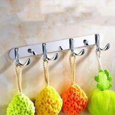 Durable Metal Bathroom Kitchen Wall Mounted Bag Hanger Coat Hat Towel Hook Rack
