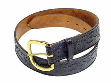 NEW Don Hume Leather Concealed Carry CCW Gun Belt, Black | Made in USA | $55.00