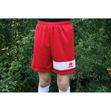 Errea Kids Marcus Football Shorts Mens Sports New Skin Light Weight Training Gym