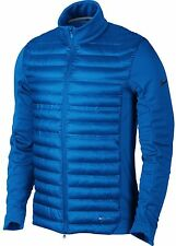 Nike Golf Men's Aeroloft Poly Filled Jacket Blue