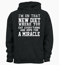 I'm On That New Diet Funny Hipster Tumblr  Hoody Hoodie Mens Womens Ladies