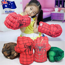 Spider Man Smash Hands Soft Toy Doll Boxing Gloves Big One Pair Funny Cosplay BO