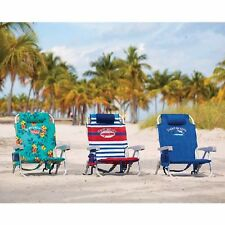 Tommy Bahama Backpack Cooler Beach Chair, 3 patterns available