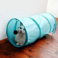 Toys Foldable Camouflage Crackle Chute Pet Cat Dogs Tunnel 4 Color Polyester
