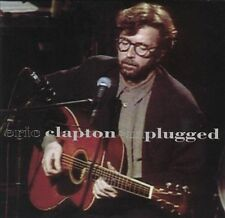ERIC CLAPTON Cassette Tapes Lot of 2 Slowhand Unplugged Rock Music Albums