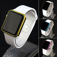NS Silicone LED Men Womens Sport Watch Bracelet Touch Digital Wrist Watches HOT