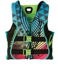 Stearns V1 Series HydroPrene Boating Vest Kids Teen or Womens Medium Neoprene
