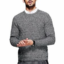 Casual Mens Simple Fashion Pullover Long Sleeve Slim Round Collar Sweater M~2XL