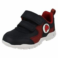 Infant Boys Clarks First Trainers with Lights Brite Max