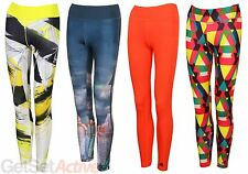 adidas Womens Ladies Ultimate Fit Gym Leggings Training Pants Long Sports Tights
