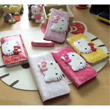 Hello Kitty iPhone 7 Case Wallet Cover Clutch Made Korea Face Lock 5 Colors