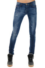 DIESEL Woman New Stretch Denim SKINZEE Jeans Made in Italy Original