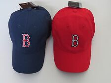 * Nike Golf Hat Cap Boston Red Sox Adjustable Velcro Back Blue or Red  MLB