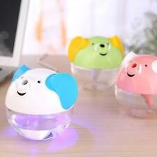 Portable USB Elephant Humidifier Aromatherapy Diffuser Air Mist Purifier 230ML