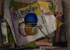 "DIEGO RIVERA Painting Poster or Canvas Print ""El Rastro"""