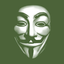 ANONYMOUS Guy Fawkes Mask Wikileaks OWS Occupy Wall Street Long Sleeve Shirt