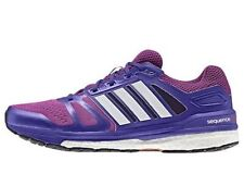 NEW PURPLE BLUE ADIDAS WOMEN'S SUPERNOVA SEQUENCE 7 BOOST RUNNING SHOES SIZE 8 9