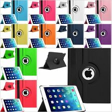 Leather 360 Degree Rotating Smart Stand Case Cover For Apple iPad Mini 1 2 3