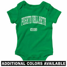 Puerto Vallarta Mexico One Piece - Baby Infant Creeper Romper NB-24M - Jalisco