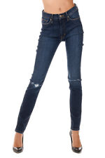 HUDSON New Woman Blue Stretch Denim SUPER Skinny BARBARA Pants Jeans NWT