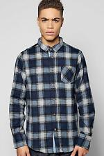 Boohoo Mens Long Sleeve Check Shirt