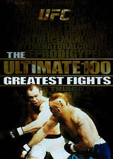 UFC: Ultimate 100 Greatest Fights...NEW