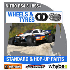 HPI NITRO RS4 3 18SS+ [Wheels & Tyres] Genuine HPi 1/10 R/C Scale!