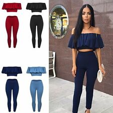 Sexy Womens Rompers Jumpsuit Stretch Strapless Bodysuit Skinny Pants Party Dress