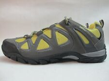Womens Karrimor Galaxy Sport Walking Hiking Grey Yellow Lace Up Ladies Shoes