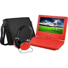 Ematic 9inch Portable DVD Player Bundle Matching Headphones and Bag