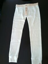 **NWT**Abercrombie & Fitch Button Fly Mens Thermal Pants Retail: $100.00