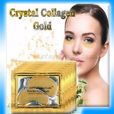 Luxury Crystal Collagen Gold Powder Eye Masks Anti Ageing Soothes Dark Circles
