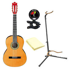 Ibanez GA3 Nylon String Acoustic Guitar Natural with Accessories