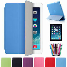 Slim Magnetic Smart Cover + Matte Back Case for iPad Air 1ST Screen Protector UK