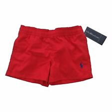 BOYS - RALPH LAUREN red Hawaiian Boxer 2Y swim Trunks swimming BNWT