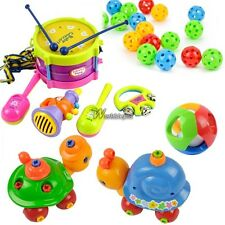 Children Educational Toy Roll Drum Musical Instruments Kit /Hand Shake Bell WT88