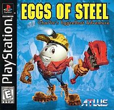 Eggs of Steel Atlus Enix Playstation 1 Disc Only PS1 No Case Manual
