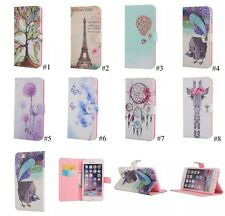 New Crystal Diamond Pattern Flip Leather Card Stand Wallet Case Cover For iPhone