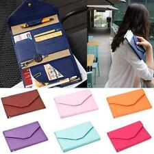 Women's Pouch Id Credit Card Wallet Cash Holder Organizer Case Box Pocket