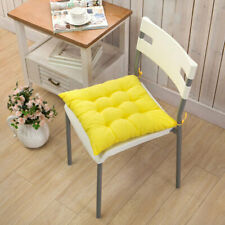 Square Chair Cushion Seat Pads Backrest Pillow Outdoor Dining Garden Cushion