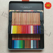 Marco Art Drawing Artist Oil Base Non-Toxic Sketch Pencils Box 48 Color