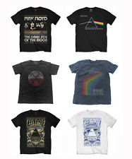 Official Pink Floyd Music T-Shirt Dark Side Of The Moon 1973 Tour Courier Prism