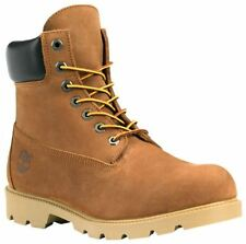 Men's Shoes Timberland 6 Inch Basic Waterproof Boots 19076 Rust Nubuck *New*