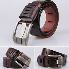 Fashion Men's Luxury Pin Buckle Belts Genuine Leather Cowhide strap Waistband